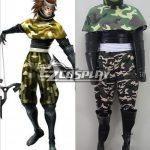 ESB0011 Sengoku Basara 3 Sarutobi Sasuke Cosplay Costume - Devil Kings / Sengoku Basara