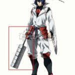ECW1505 Akame Ga Kill Susanoo Sword Cosplay Weapon Prop - Akame ga Kill!