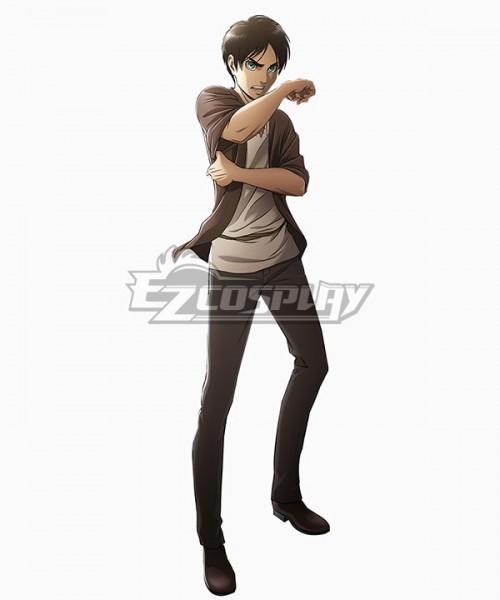 c82aaab1e174 EAO075 Attack on Titan Season 3 Shingeki No Kyojin Eren Yeager Cosplay  Costume – Attack on