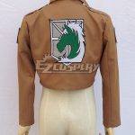 EAO0038 Attack on Titan Shingeki no Kyojin Military Police Regiment Nile Dawk Cosplay Costume - Only Jacket - Attack on Titan