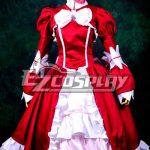 ZBC0127 Black Bulter Elizabeth Red Dress Cosplay Costume - Advanced Custom