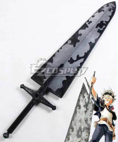 """47/"""" Black Clover Asta Big Sword Cosplay Prop 1954"""