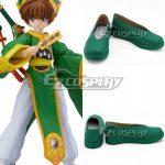 COSS1842 Cardcaptor Sakura: Clear Card Syaoran Li Green Cosplay Shoes - Cardcaptor Sakura: Clear Card