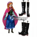 COSS0116 Frozen Anna Disney Cosplay Shoes - Frozen