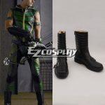 COSS0142 DC Comics Green Arrow Oliver Queen Cosplay Shoes - D.C