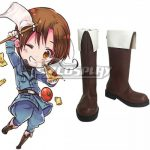 COSS0416 APH Hetalia: Axis Powers Feliciano Vargas Italy Veneziano Boots Cosplay Shoes - Axis Powers Hetalia