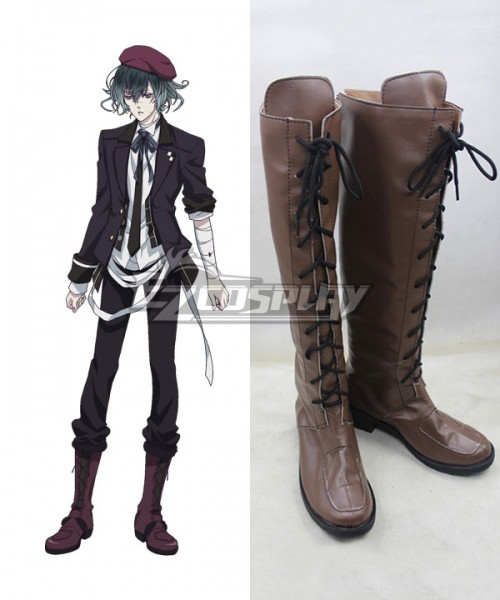 Cosplay Boots Shoes for DIABOLIK LOVERS Komori Yui