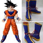 COSS0524 Dragon Ball Son Goku Kakarotto Blue Shoes Cosplay Boots - Dragon Ball Super