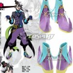COSS0547 Divine Gate Loki Purple Cosplay Shoes - Divine Gate