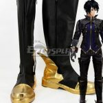 COSS0687 God Eater 2 Protagonist Male Black Shoes Cosplay Boots - God Eater