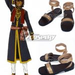COSS0694 Black Butler Prince Soma Gold Cosplay Shoes - Black Butler