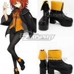 COSS0869 Fate Grand Order Masters Female Black Cosplay Shoes - Fate Series