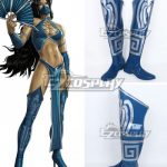 COSS0886 Mortal Kombat Kitana Shoes Cosplay Boots - Commission Outfit