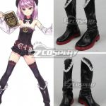 COSS1003 Fate Grand Order Helena Blavatsky Black Shoes Cosplay Boots - Fate Series