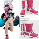 COSS1020 Dragon Ball Chi Chi Pink Shoes Cosplay Boots - Dragon Ball Super
