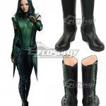 COSS1061 Marvel Guardians of the Galaxy Vol. 2 Mantis Black Shoes Cosplay Boots - Guardians of the Galaxy