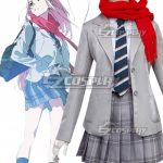 ECM0719 Darling In The Franxx Zero Two Code 002 Daily Clothes Cosplay Costume - Darling in the Franxx