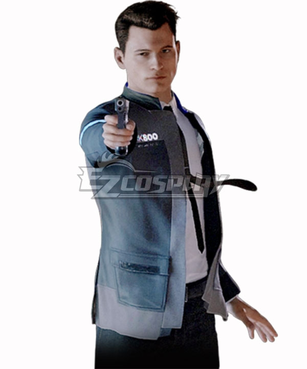 Ecm0855 Detroit Become Human Connor Cosplay Costume