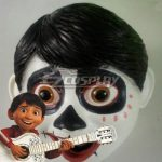 ENA0801 Disney Movie Coco Miguel Rivera Halloween Mask Cosplay Accessory Prop - Halloween Promotion