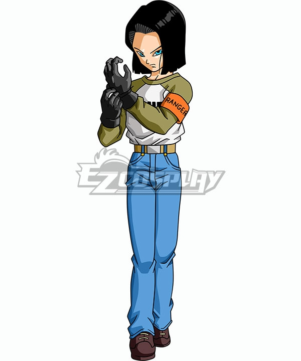 Edr0050 Dragon Ball Android 17 Cosplay Costume Dragon Ball Super