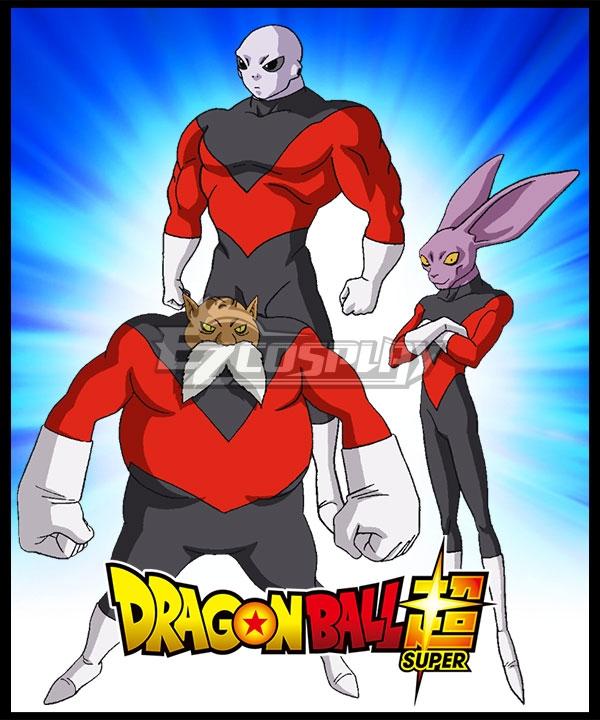 Edr0042 Dragon Ball Super Universe 11 Jiren Toppo Dyspo Cosplay Costume