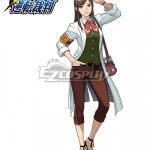 EAAY007 Ace Attorney Gyakuten Saiban Ema Skye Cosplay Costume - Ace Attorney