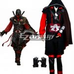 EAC0014 Assassin's Creed Deadpool Red Cosplay Costume - Assassin's Creed