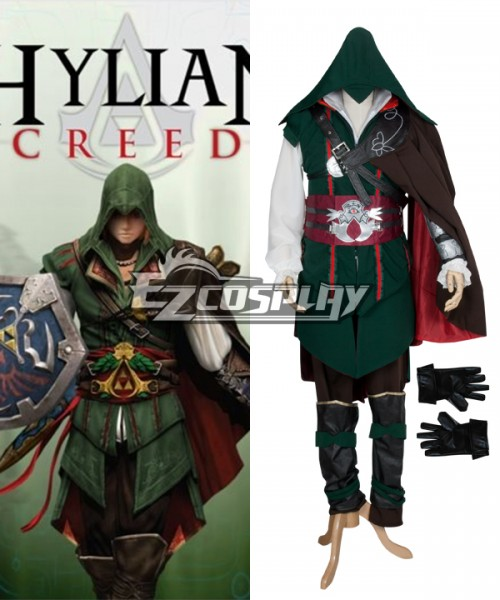 Eac0019 Hylian Creed Assassin S Creed Cosplay Costume Simple Version