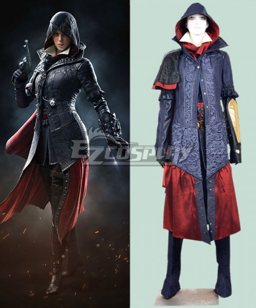 Eac0036 Assassin S Creed Syndicate Evie Frye Cosplay Costume