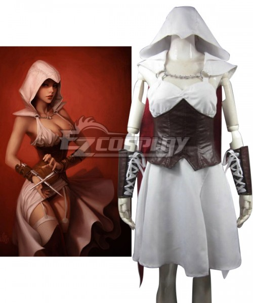 Eac0038 Assassin S Creed Iii Connor Kenway Female Edition Cosplay