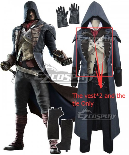Eac0045 1 Assassin S Creed Unity Arno Victor Dorian Cosplay