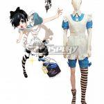 EBB0046 Black Butler Kuroshitsuji Ciel Phantomhive Maid Dress Cosplay Costume - Black Butler