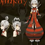 ECDN002 Chaos Dragon Sekiryuu Senyaku Keiosu Doragon Red Dragon Yukihachisu Cosplay Costume - Chaos Dragon