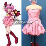 ECM0173 Tokyo Mew Mew Ichigo Momomiya Cosplay Costume - Commission Outfit