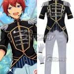 ECM0311 Ensemble Stars Judge! Black and White Duel Arashi Narukami Tsukasa Suou Cosplay Costume - Ensemble Stars