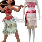ECM0351 Disney Animation Moana Moana Cosplay Costume - Disney