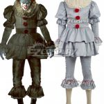 ECM0459 It 2017 Movie Pennywise Halloween Cosplay Costume - Halloween Promotion