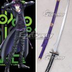 ECW0557 K Return Of Kings Mishakuji Yukari Sword Cosplay Weapon Prop - K RETURN OF KINGS