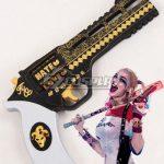 ECW0790 DC Detective Comics Batman Suicide Squad Task Force X Harley Quinn 2016 Movie Gun Cosplay Weapon Prop - D.C
