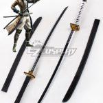 ECW0875 Devil Kings Sengoku Basara 4 Sumeragi Katakura Kojuro Two Sword Cosplay Weapon Prop - Devil Kings / Sengoku Basara