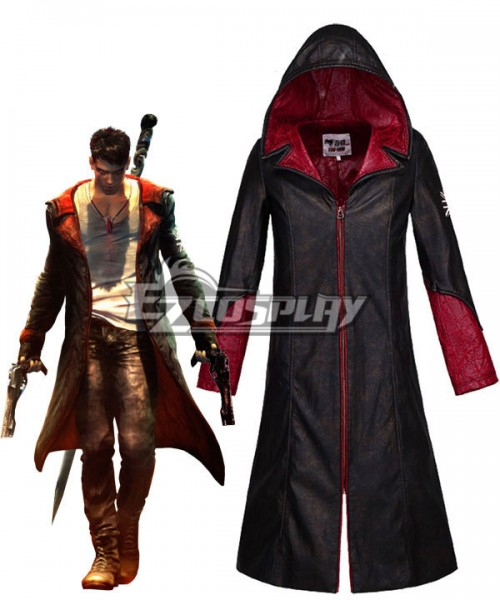 Edc0013 New Dmc Devil May Cry 5 Jacket Dante Cosplay Costume