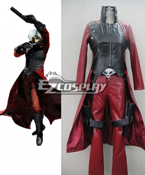 Edc0014 Devil May Cry 4 Dante Cosplay 2nd Cosplay Costume