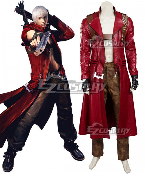 Edc0020 Devil May Cry 3 Dante Cosplay Costume Updated Version