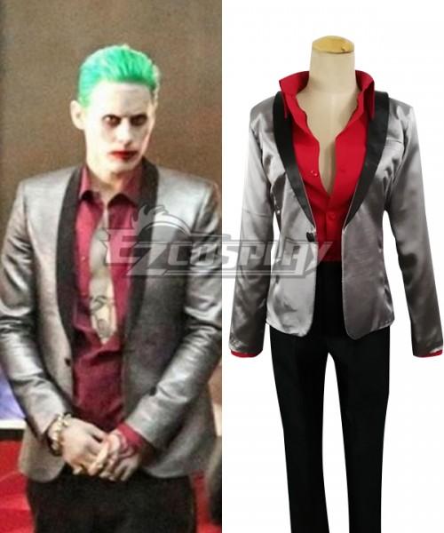 Edcg036 Dc Comics Batman Suicide Squad Joker Cosplay Costume D C