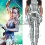 EDCG051 DC Comics Arrow Season 4 White Canary Sara Lance Cosplay Costume - D.C