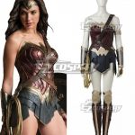 EDCG057 DC Comics Justice League Batman V Superman Dawn Of Justice Wonder Woman Diana Prince Cosplay Costume - D.C