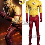 EDCG066 DC Detective Comics The Flash Season 3 Kid Flash Wallace Rudolph Wally West Cosplay Costume - D.C