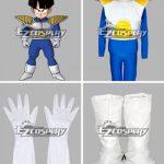 edr0016 Dragon Ball Kid Gohan Saiyan Armor Uniform Halloween Cosplay Costume - Dragon Ball Super