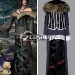 EFF0035 Final Fantasy X Lulu Cosplay Costume - Final Fantasy