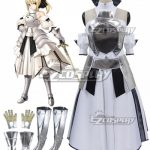 EFN0021 Fate Stay Night Fate Grand Order Saber Lily Altria Pendragon King Arthur Cosplay Costume - Fate Series